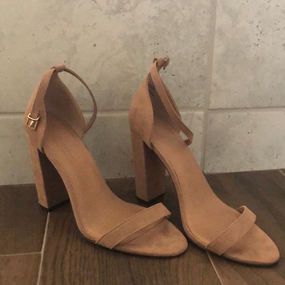 ASOS Shoes - ASOS nude block heels